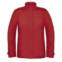 B&C Real Women Plus Jacket JW925 Red
