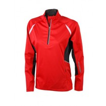 James & Nicholson Ladies' Sports Shirt Windproof JN441