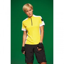 James & Nicholson Ladies' Bike-T Half Zip JN451