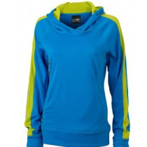 James & Nicholson Ladies' Hooded Fleece Pull JN572