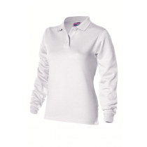 Dames polosweater Wit
