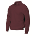 Polosweater Bordeaux-rood