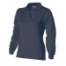 Dames polosweater Donker grijs