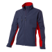 Soft Shell Jack Blauw/Rood