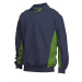 Polosweater Navy/Lime